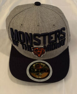 Boy's New Era Chicago Bears On-Stage Draft 59FIFTY Fitted Hat NWT 6 3/8