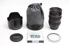 Canon EF 28-70mm f/2.8 L USM Lens EXCELLENT + BONUS 77mm UV EOS DIGITAL 24 5D 7D