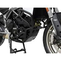Ducati Multistrada 950 BJ 2017 Motorschutz Unterfahrschutz Bugspoiler schwarz