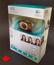 Logitech C615 WebCam HD 1080p Fold and go Autofocus for PC MAC Skype FaceTime