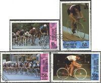 Obervolta 795-798 (kompl.Ausg.) gestempelt 1980 Olympische Sommerspiele 1980