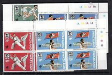 Swaziland 1988 Olympic Games MNH control block set SG545-548 WS4997