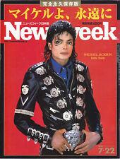 Michael Jackson NEWSWEEK Japanese Edition JAPAN Magazine 2009