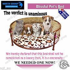Pet Bed Dog Cat Bed Luxury Metal Frame Pet Kennel Cushion Puppy Bed Mattress