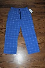 $122 Lacoste Men/'s Blue Regular Fit Colorblocked Cotton Stretch Jogger Pajama M