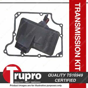 Trupro Transmission Filter Service Kit for Holden Caubra Vectra JR JS Zafira TT