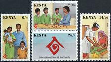 Kenya 1994 SG#628-631 Year Of The Family MNH Set #E4521