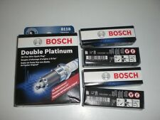 Set of 4 Bosch Double Platinum 8118 Car Truck Auto Spark Plugs WR8LPP33X Various