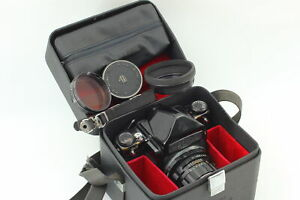 [Exc+4] Pentax 6x7 67 Mirror Up Eye Level w/ SMC Takumar 105mm f/2.4 From JAPAN