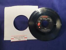 THE ROLLING STONES Fight/One Hit 45 Record ROLLING STONE RECORDS