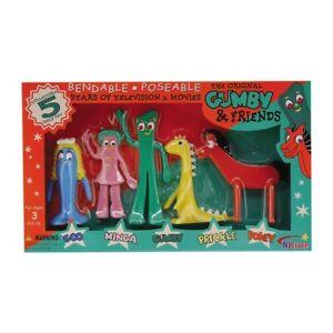 Gumby & Friends Bendable Boxed Set 5 Piece NJ Croce 011154