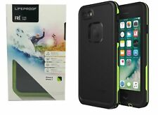 Brand Lifeproof Fre Series Case Waterproof For iphone 8 & iPhone 7 Black Lime