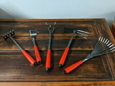 5 Piece Garden Tool Sets, Hand Tools with High Carbon Steel Heads