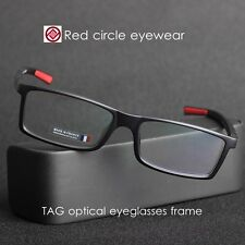Black mens eyeglasses Brand designer optical eyeglass  RX-able Myopia eyeglasses
