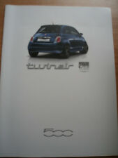 FIAT 500 TWINAIR BROCHURE GAMMA SEP 2011