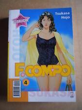 F. COMPO Tsukasa Hojo Vol. 4 edizione Star Comics   [G371C]