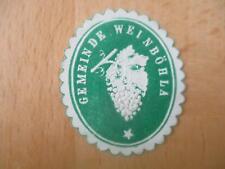 (32986) Siegelmarke - Gemeinde Weinböhla