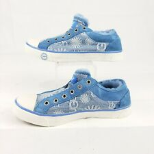 UGG LOW TOP GYM SHOES Denim SIze 6.5 US