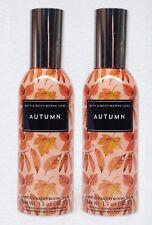 2 Bath & Body Works AUTUMN Mini Room Spray Perfume Air Freshener Fall