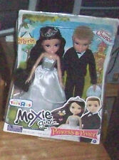 MOXIE GIRLZ GIRLS PRINCESS MERIN & PRINCE CHANCE DOOL WEDING SET EXCLUSIVE BRATZ