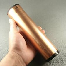 Fine Rose Gold Color COHIBA Metal Travel Cigar Tube Jar humidity HB32G