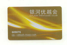 Macau Galaxy Casino Hotel slot Card RARE