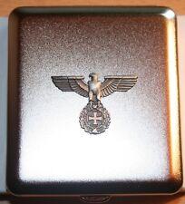 Zigaretten Etui  mit  Reichsadler   Emblem  Metall  NEU