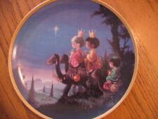 Hamilton Collection Precious Moments Christmas Plate