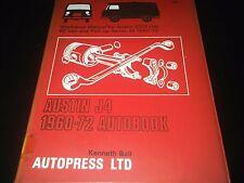 Austin J4 10/12 CWT FC Van Pick-UP 1960-1972 Owners Workshop Manual Autobook