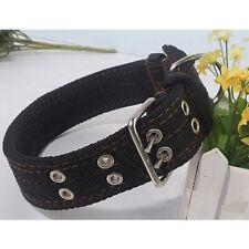 Large Breed Nylon Heavy Duty Large Dog Collar Neck Buckl Collars Adjustable XL L