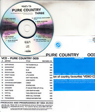PURE COUNTRY 3 VCD VIDEO CD NEW GARTH BROOKS LEANN RIMES ALAN JACKSON TIM MCGRAW