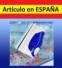 Limpieza de tanque de acuario doble magnetico cristal ventanas agua algas pecera