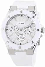 GUESS W90084L1 Multi-function White Silicone Women's Watch