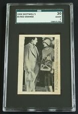 1926 Shotwell's Red Grange #3 Blank Back SGC 30 Good 2