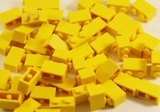 20x LEGO ® 3004 pietre 1x2 GIALLO Bricks YELLOW pieces parts i blocchi predefiniti NUOVO NEW