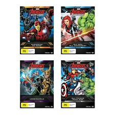 Avengers Secret Wars (Complete Season 4 Collection) DVD Region 4 (vol 1 2 3 & 4)