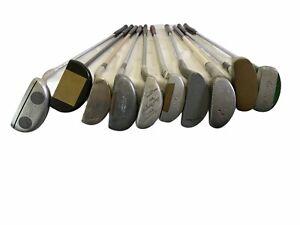 Vintage Lot of 10 Spalding Putters Steel Shaft RH