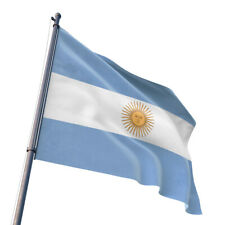 National Flag of Argentina 3x5' Foot Argentine Republic Argentinian Sun Banner
