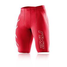 Pantalons et leggings de fitness rouge pour homme