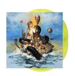 Circa Survive Descensus Exclusive Limited Edition Yellow Colored Vinyl 2LP New