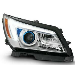 Fit Halogen Type 2014-16 Buick LaCrosse Passenger Side LED Projector Headlight