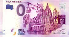 ALLEMAGNE Köln am Rhein 3, 2017, Billet 0 € Souvenir