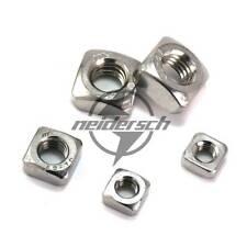 M3-M10 Metric Thread 304 Stainless Steel Square Nut Fastener Nut Screw Nut New
