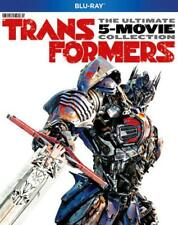 TRANSFORMERS: THE ULTIMATE FIVE MOVIE COLLECTION USED - VERY GOOD BLU-RAY DISC