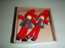 Scandinavian Swedish Gnome Christmas Kindness Elf Gnome Ornaments #809