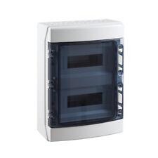 Tableau Coffret électrique étanche 2 rangées 24 modules IP65 IDE (Réf: CDN24PT)