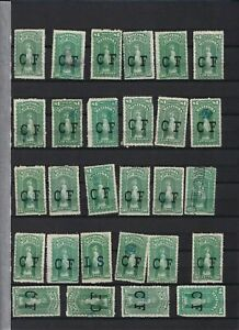 Canada Interesting Revenue stamps Manitoba CF law stamps