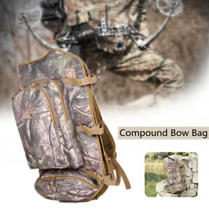 Compound Bow Bag Carry Case Holder Backpack Archery Hunting Shooting Rifle Bag