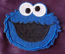 Cookie Monster Embroidered Patch Sesame Street Muppets Diy