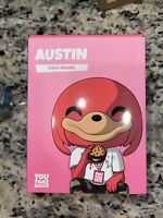 Youtooz Austin Vinyl Figure - Limited Edition (500 MADE) Unscratched Code